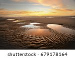 beach sunrise | Shutterstock . vector #679178164