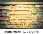 blurred image variety  of... | Shutterstock . vector #679179478