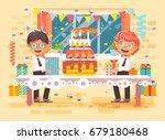 stock vector illustration... | Shutterstock .eps vector #679180468