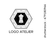 the logo atelier. vector... | Shutterstock .eps vector #679180966