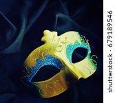 carnival mask | Shutterstock . vector #679189546