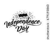 independence day hand drawn...   Shutterstock .eps vector #679193860
