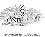 beauty fitness text word cloud... | Shutterstock .eps vector #679194538