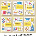 premium quality scientific ... | Shutterstock .eps vector #679203073