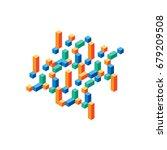 abstract modern composition... | Shutterstock .eps vector #679209508