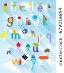 poster design for english... | Shutterstock .eps vector #679216894