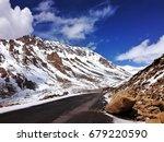 Small photo of Khardung la top world highest motor able road