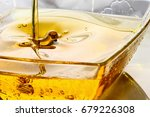 oil background   cooking oil is ... | Shutterstock . vector #679226308
