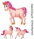 pink unicorns on white...