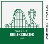 national roller coaster day | Shutterstock .eps vector #679251658