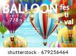 balloon festival ads  hot air...   Shutterstock .eps vector #679256464