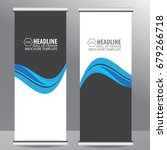 roll up business brochure flyer ...   Shutterstock .eps vector #679266718