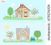 family home   icon set 2....   Shutterstock .eps vector #679276324