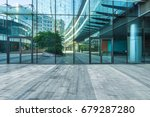 modern building outdoors  | Shutterstock . vector #679287280