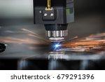 high precision cnc laser... | Shutterstock . vector #679291396