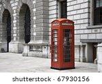 Red Telephone Near Big Ben