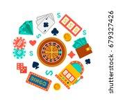 vector background for royal... | Shutterstock .eps vector #679327426