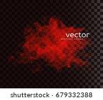 vector illustration of smoky... | Shutterstock .eps vector #679332388