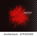 vector illustration of smoky... | Shutterstock .eps vector #679332400