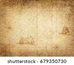 pirate and nautical theme... | Shutterstock . vector #679350730