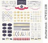 premium design elements. great... | Shutterstock .eps vector #679351108