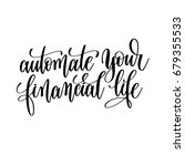 automate your financial life... | Shutterstock .eps vector #679355533