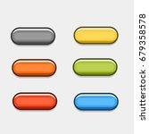 button cartoon  | Shutterstock .eps vector #679358578