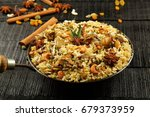 kerala food  malabar mutton...   Shutterstock . vector #679373959