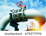 equipment  cables and piping as ... | Shutterstock . vector #679377970