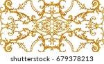 horizontal decorative... | Shutterstock . vector #679378213
