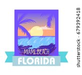emblem logo for vacation in... | Shutterstock .eps vector #679392418