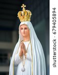 statue of our lady of fatima | Shutterstock . vector #679405894