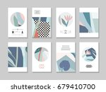 collection of creative... | Shutterstock .eps vector #679410700