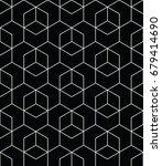 geometric pattern | Shutterstock .eps vector #679414690