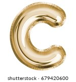 C Letter Alphabet  Font Balloo...