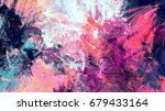 cold multicolor beautiful... | Shutterstock . vector #679433164