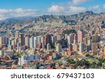 la paz  bolivia   april 05 ... | Shutterstock . vector #679437103