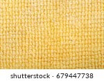 yellow microfiber fabric... | Shutterstock . vector #679447738