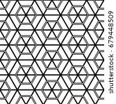 abstract seamless pattern.... | Shutterstock .eps vector #679448509