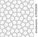 vector seamless pattern. modern ... | Shutterstock .eps vector #679450309