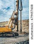 industrial drilling rig... | Shutterstock . vector #679457608