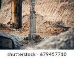 heavy duty machinery used for... | Shutterstock . vector #679457710
