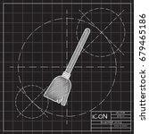 vector flat halloween icon.... | Shutterstock .eps vector #679465186