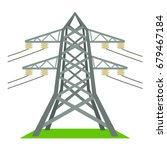 electric tower icon. cartoon... | Shutterstock .eps vector #679467184
