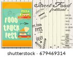 street food and truck festival... | Shutterstock .eps vector #679469314