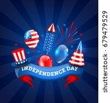 american banner for...   Shutterstock . vector #679479529