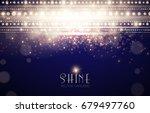 abstract elegant shining... | Shutterstock .eps vector #679497760