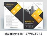 vector brochure layout  flyers... | Shutterstock .eps vector #679515748