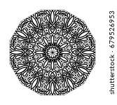 mandala. vintage decorative... | Shutterstock .eps vector #679526953