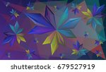 abstract facets background... | Shutterstock .eps vector #679527919